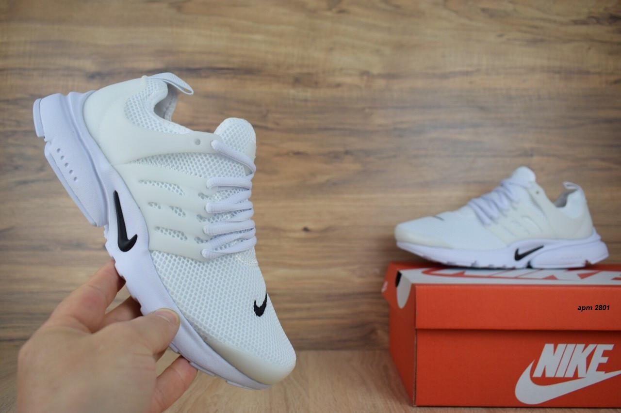 Кроссовки Air Presto белые сетка распродажа АКЦИЯ 650 грн последние размеры Nike  39й(25см) люкс копия