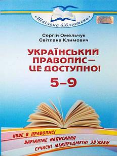 Український правопис - це доступно!
