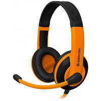 Наушники Defender Warhead G-120 Black-Orange (64099)