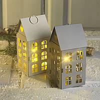 Новогодний светильник домик