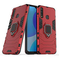 Чехол Ring Armor для Vivo Y19 / U3 / Z5i / Y5S Red