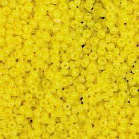 Бисер чешский Preciosa 83110, Круглый, Цвет:Натуральный, жёлтый, лимонный. 10/0 50 грамм/уп