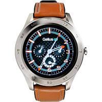 Смарт-часы Gelius Pro GP-L3 (URBAN WAVE 2020) (IP68) Silver/Brown (Pro GP-L3 (URBAN WAVE 2020) Brown)