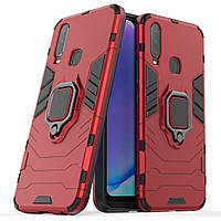 Чехол Ring Armor для Vivo Y17 / Y3 / Y15 / U3X / Y11 Red