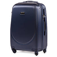 Дорожный чемодан wings К310 синий размер  М (средний), фото 1