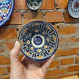 Узбекская пиала ручной работы ~125 мл, d 9.5 см. Керамика, фото 2