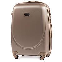 Дорожный чемодан wings К310 шампань размер  М (средний), фото 1