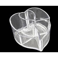 Органайзер для косметики (сердце) MF-B042