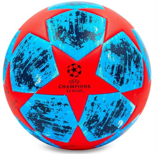 Мяч футбольный №5 PVC Champions League 2018-2019 FB-6881