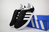 Кроссовки распродажа АКЦИЯ последние размеры 750 грн Adidas Gazelle 36й(23см), 37й(23,5см) люкс копия, фото 5