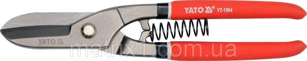 Ножницы по металлу прямые  250 мм  // YATO