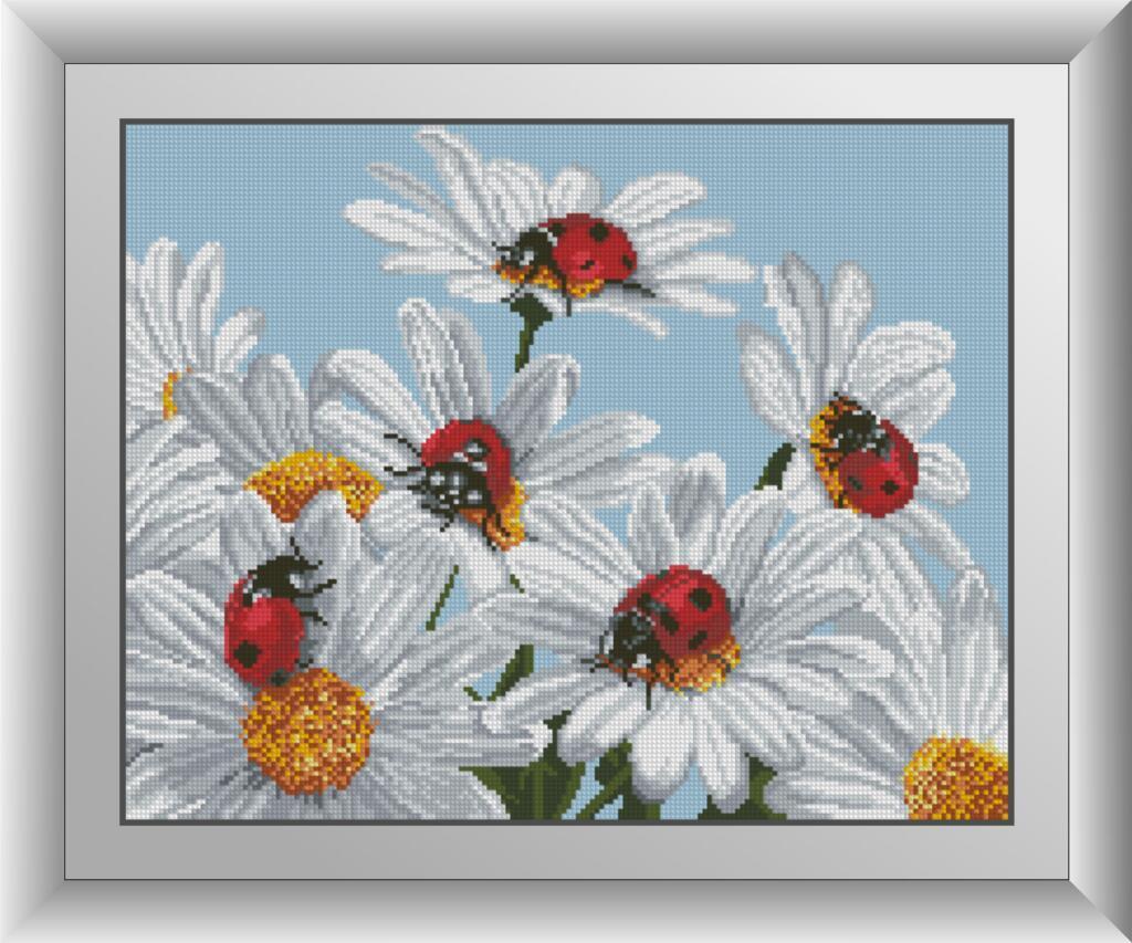 Алмазная мозаика Небесные посланники Dream Art 30067 37x47см 18 цветов, квадр.стразы, полная зашивка. Набор