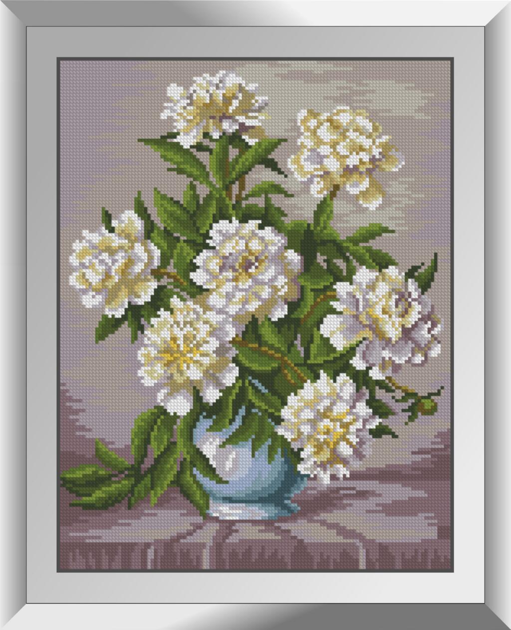 Алмазная мозаика Нежная красота Dream Art квадратные стразы, полная зашивка. Набор алмазной вышивки