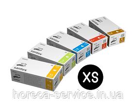 Перчатки латексные опудренные Mercator Medical Santex размер XS 50 пар