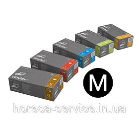 Перчатки виниловые неопудренные Mercator Medical VINYLEX PF размер М 50 пар