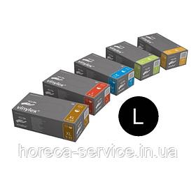 Перчатки виниловые неопудренные Mercator Medical VINYLEX PF размер L 50 пар