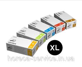 Перчатки латексные опудренные Mercator Medical Santex размер XL 50 пар