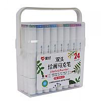 Набір скетч маркерів Aihao 24 кольорів