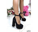 Туфли на платформе с ремешком, фото 5
