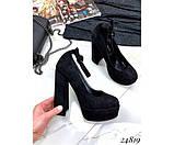 Туфли на платформе с ремешком, фото 7