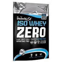 Сывороточный Протеи Изолят Гидролизат BioTech USA ISO WHEY ZERO Lactose FREE - 500 грамм