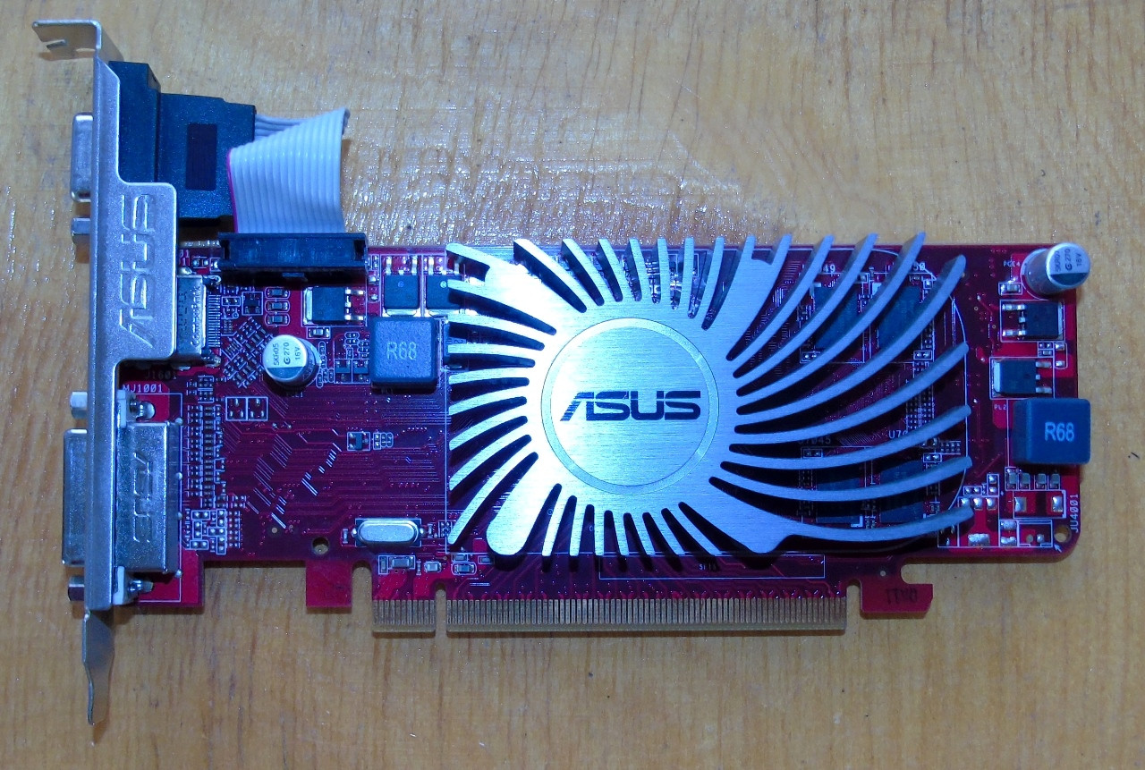 Видеокарта Asus Radeon HD6450 1Gb DDR3 64bit @