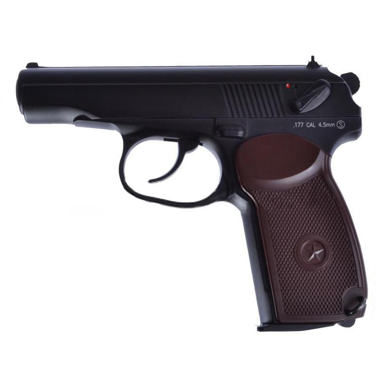 Пистолет пневматический KWC KM 44DND Макаров ПМ (4.5 mm)