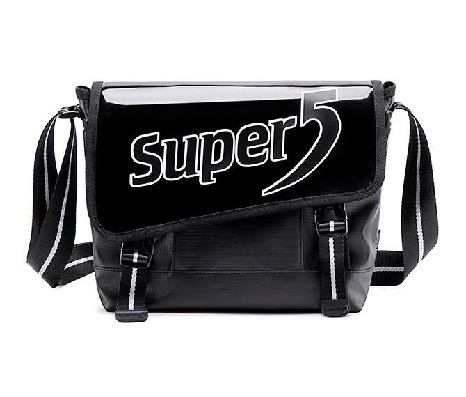 Спортивная сумка через плечо Super5 K00098, из водоотталкивающей ткани, 5л