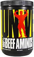 Universal Nutrition Beef Aminos 200 таб аминкоислотный комплекс из говядины