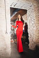 Платье с открытой спинкой 17/185