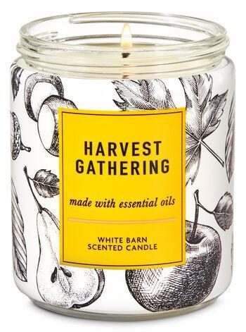 Ароматизированная свеча Harvest Gathering Bath & Body Works
