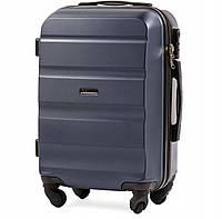 Дорожный чемодан wings AT01  blue размер М (средний), фото 1