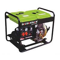 Однофазный дизельный генератор DALGAKIRAN DJ 4000 DG-E (4 кВт)