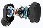 Беспроводные bluetooth наушники MI Redmi Airdots Pro с LED дисплеем стерео гарнитура белые, фото 3