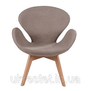 Кресло для педикюра Лотос Вуд, обивка ткань