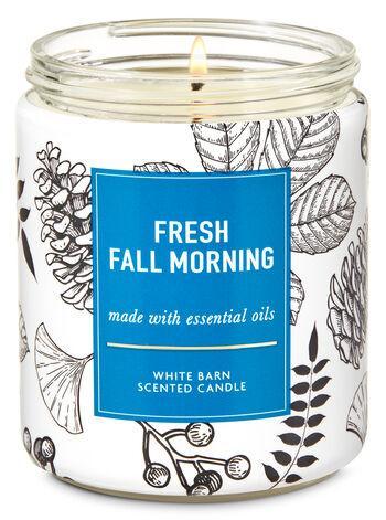Ароматизированная свеча Fresh Fall Morning Bath & Body Works