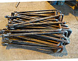 Болт фундаментный М30 тип 1 изогнутый по гост 24379.1-80, фото 4