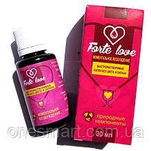 """Збуджуючі краплі для жінок з швидким ефектом """"Forte Love"""" 30 мл."""