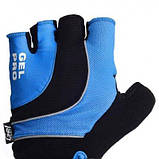 Велорукавички PowerPlay 5015 D Сині L SKL24-144356, фото 2