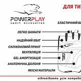 Велорукавички PowerPlay 5015 D Сині L SKL24-144356, фото 7