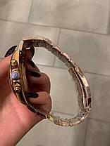 Часы мужские наручные механические с автоподзаводом Rolex Daytona Metal Gold-Black-Rose реплика ААА класса, фото 2