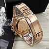 Часы мужские наручные механические с автоподзаводом Rolex Daytona Metal Gold-Black-Rose реплика ААА класса, фото 5