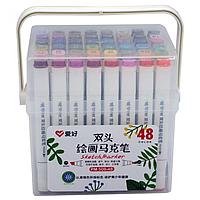 Набір скетч маркерів Aihao 48 кольорів