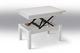 Кухонный стол трансформер Флай  Микс мебель, цвет белый