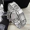 Часы мужские наручные механические с автоподзаводом Rolex Daytona Metal Silver-Black-Black реплика ААА класса, фото 6