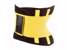 Пояс для похудения Hot Shapers Belt Power на липучке желтый Xxl SKL11-142055