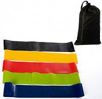 Эспандер резиновые ленты набор спортивных резинок для фитнеса йоги Esonstyle Комплект из 5 штук