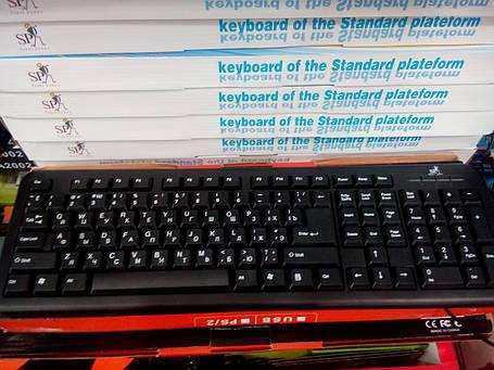 Клавиатура проводная USB A2002, фото 2