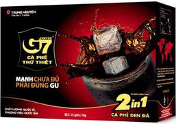 Вьетнамский растворимый кофе G7, 2 в 1 , Original, 15 пак