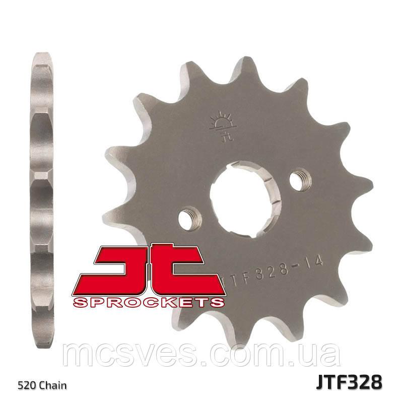 Звезда стальная передняя JT Sprockets JT JTF328.13